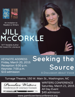 Jill McCorkle and Conference - Social Media flyer
